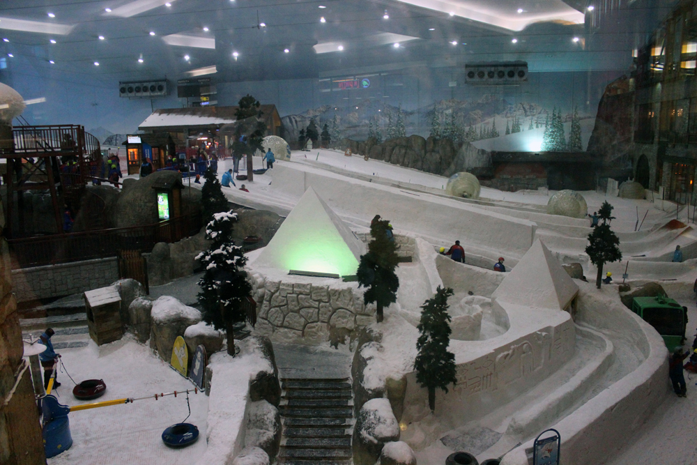 Ski Dubai Indoor Ski slope Dubai United Arab Emirates Middle East