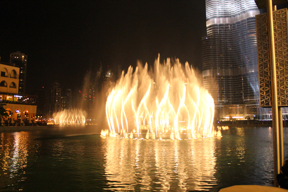 Dubai Fountain Dubai Mall Dubai United Arab Emirates