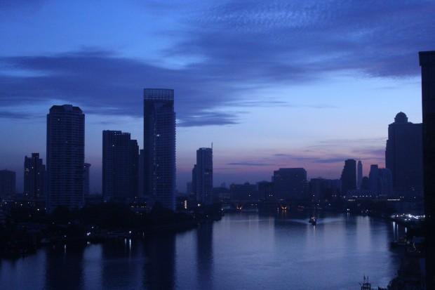 Menam Chao Phraya river