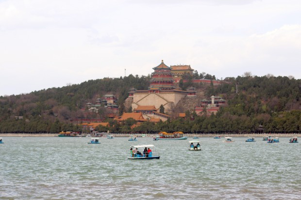 Visiting the Summer Palace