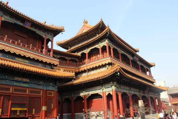 A touch of Tibet: the Lama Temple