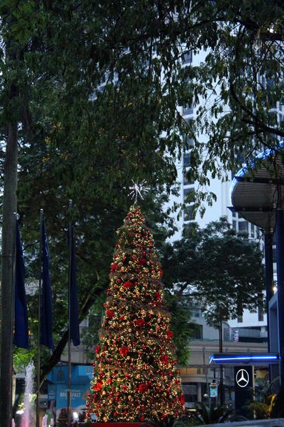 Christmas tree in Kuala Lumpur