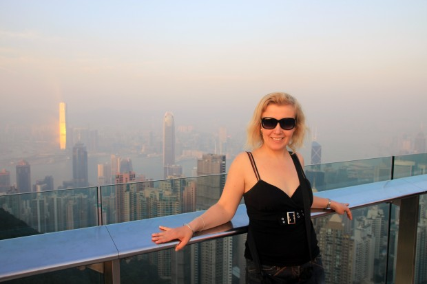 On Victoria Peak, Hongkong (November 2013)