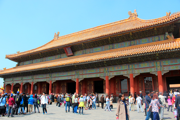 Hall of Preserving Harmony (Baohe Dian)