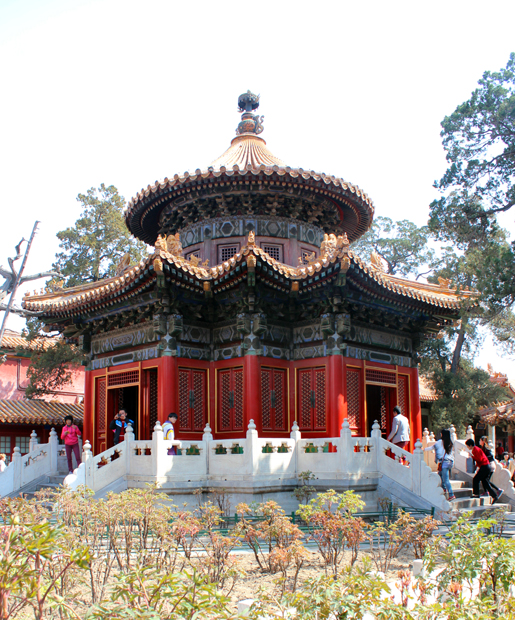 Pavillion in the Imperial Garden