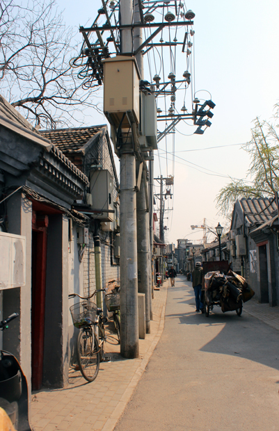 Narrow alley in a Hutong