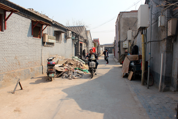 Street scene in a Hutong