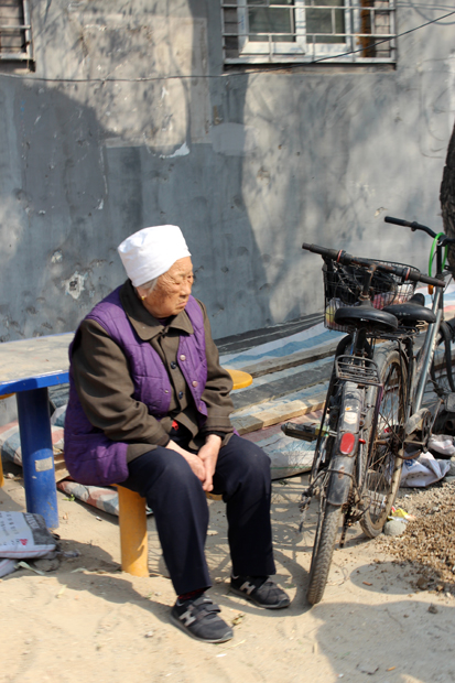 Another local elderly Lady in a Hutong