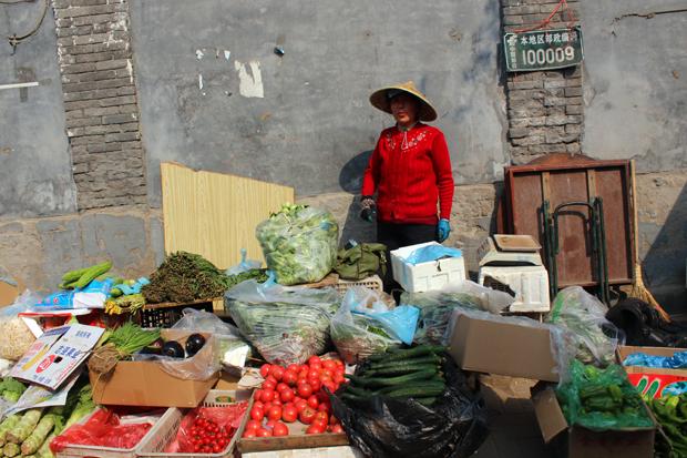 Street vendour