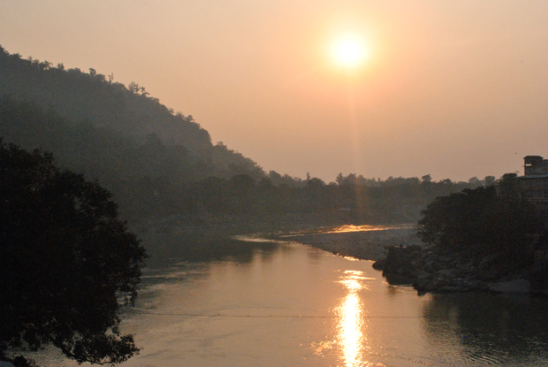 At the Ganges, Rishikesh, Uttarakhand, India