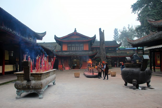 Our Monastery on Mount Emei Shan