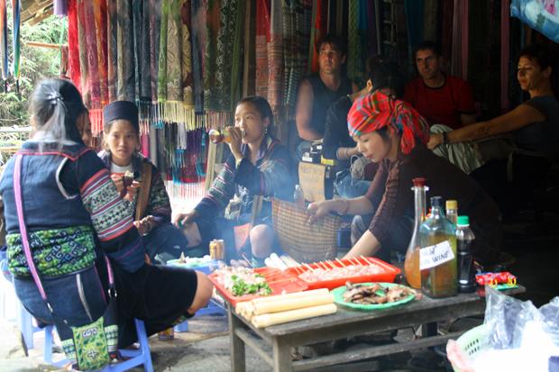 Ethnic groups highland Sapa Vietnam