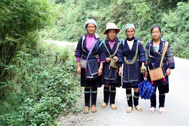Ethnic group highland Sapa Vietnam