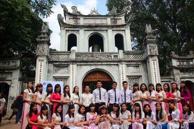 Temple of Literature Van Mieu Hanoi Vietnam