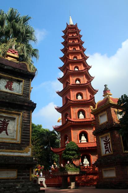 Tran Quoc Pagoda Hanoi Vietnam