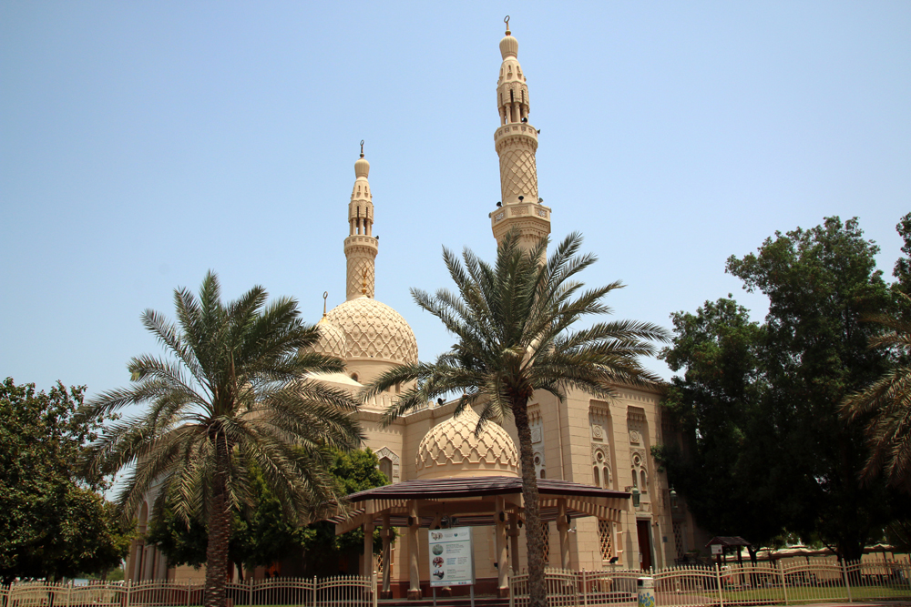 Jumeirah Mosque Dubai United Arab Emirates Middle East Year of Contrasts