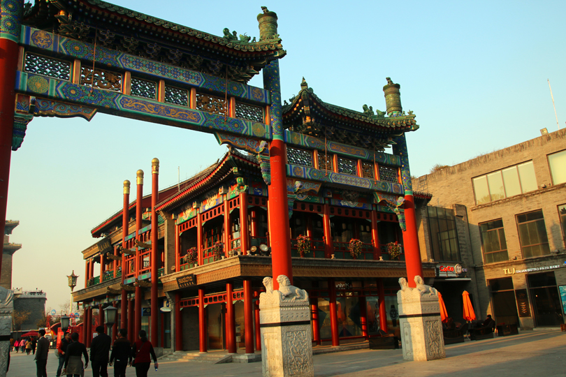 Qianmen Peking China