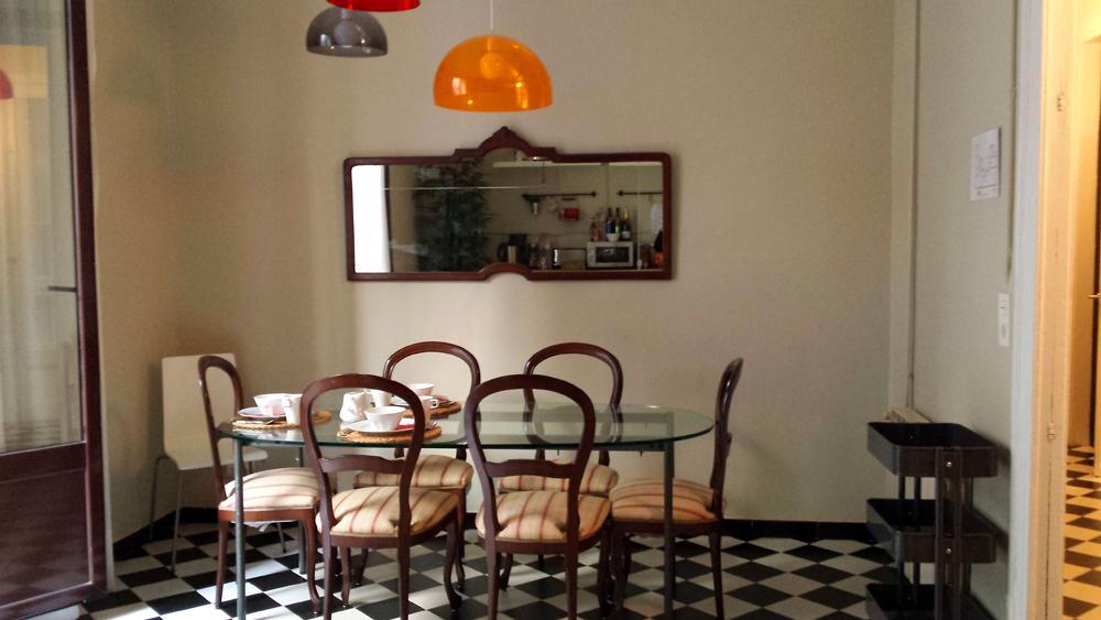Mein Hotel Gemeinschaftsküche Barcelona Spanien