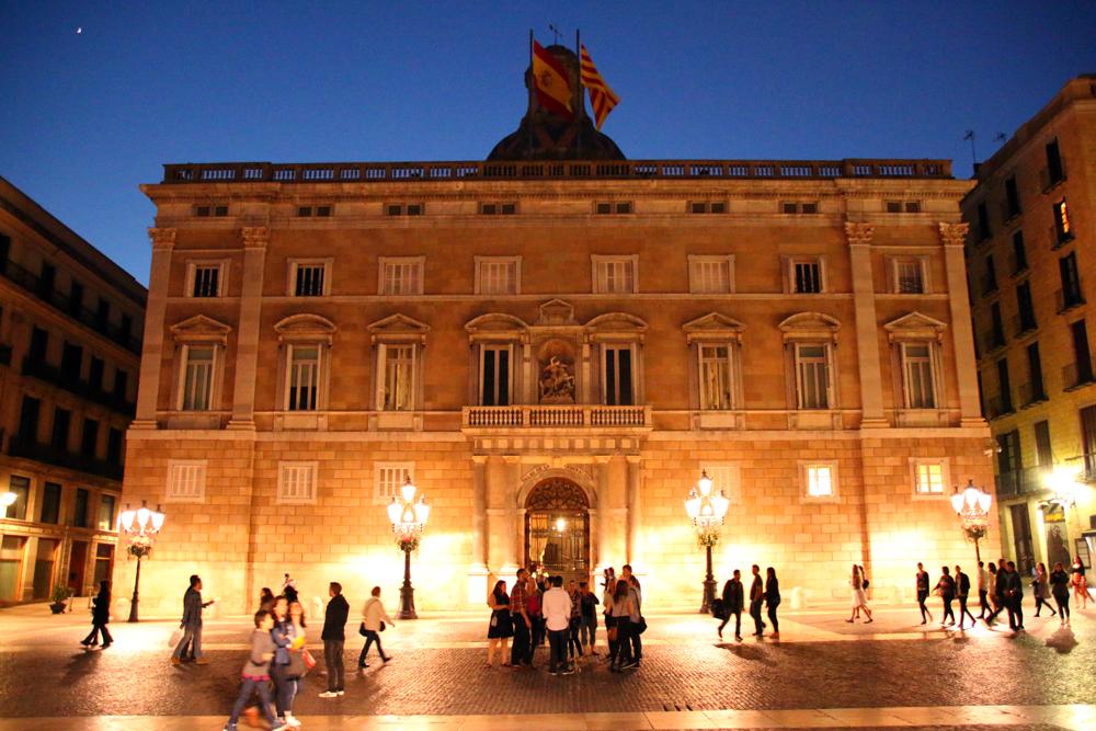 Palau de la Generalitat Barcelona Spanien