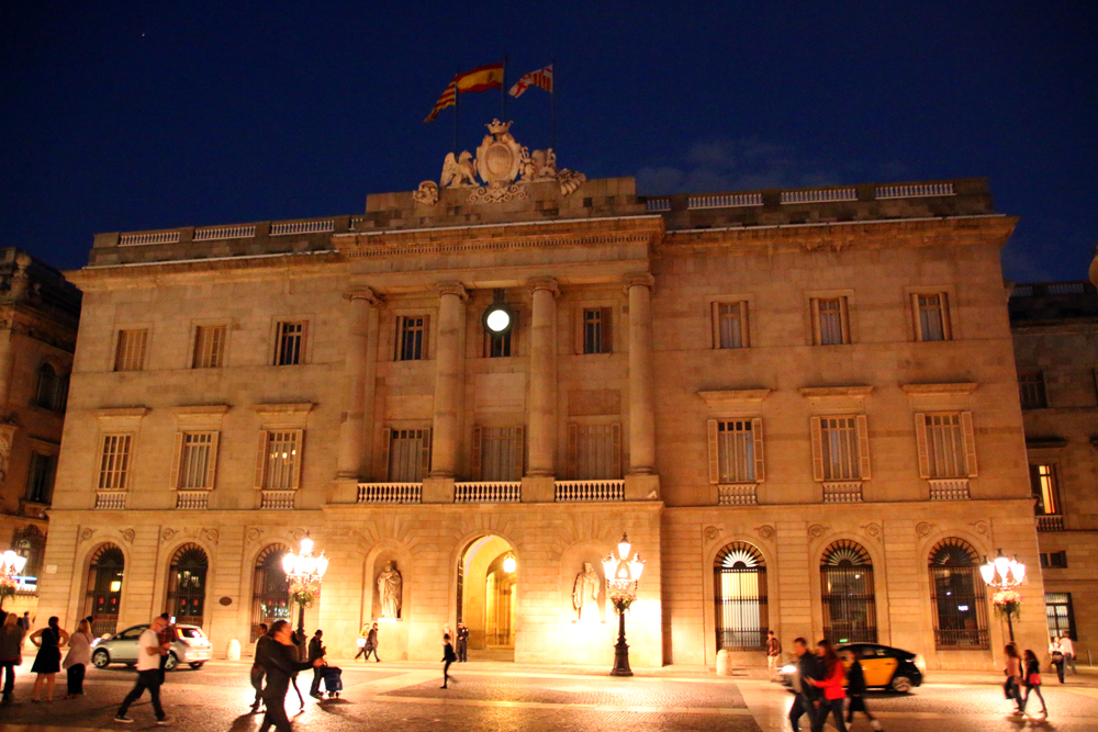 Casa de la Ciutat Barcelona Spanien