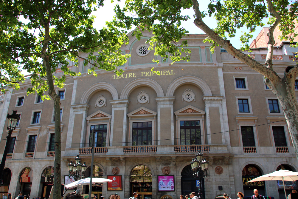 Teatre Principal La Rambla Barcelona Spain
