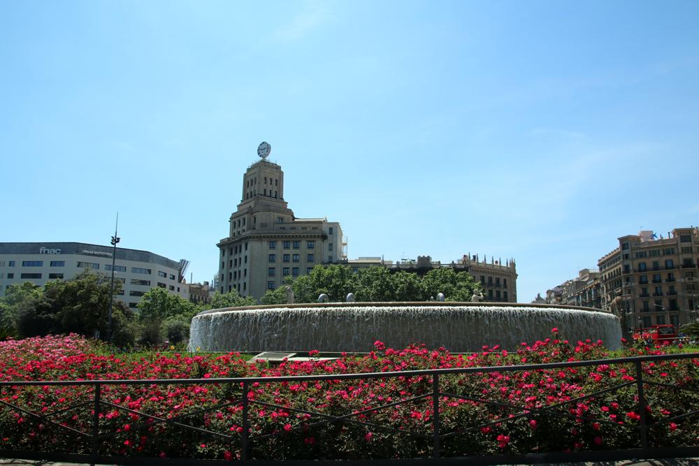 Placa de Catalunya Barcelona Spain