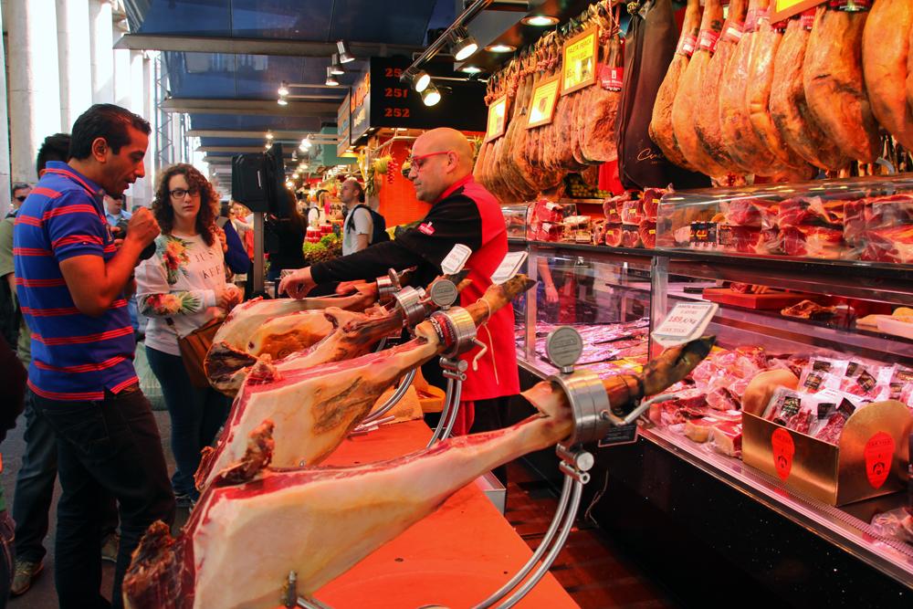 Market La Rambla Barcelona Spain