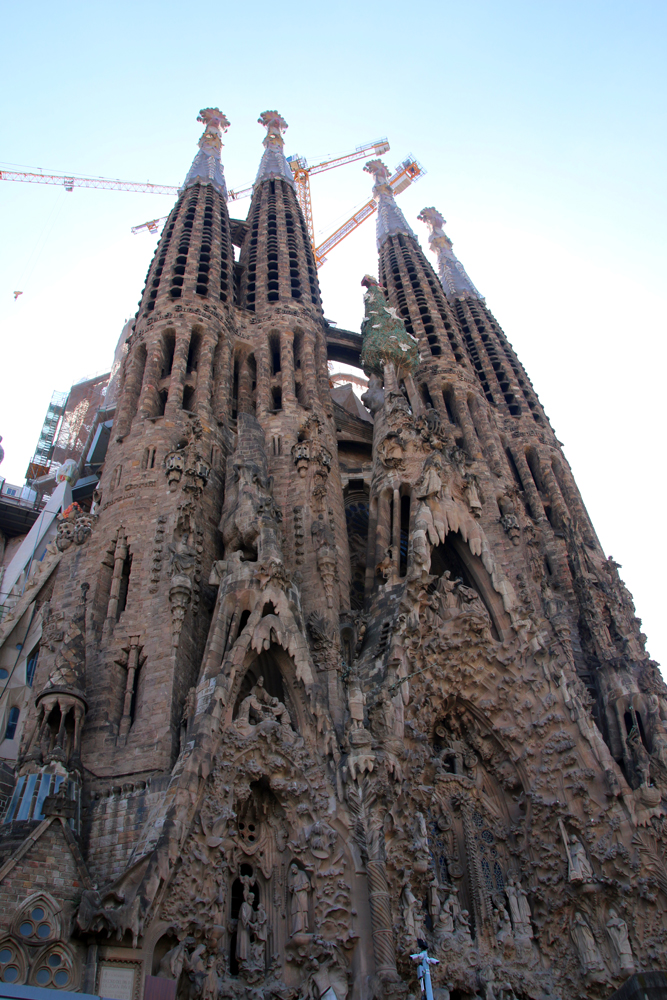 Sagrada Familia Barcelona Spanien