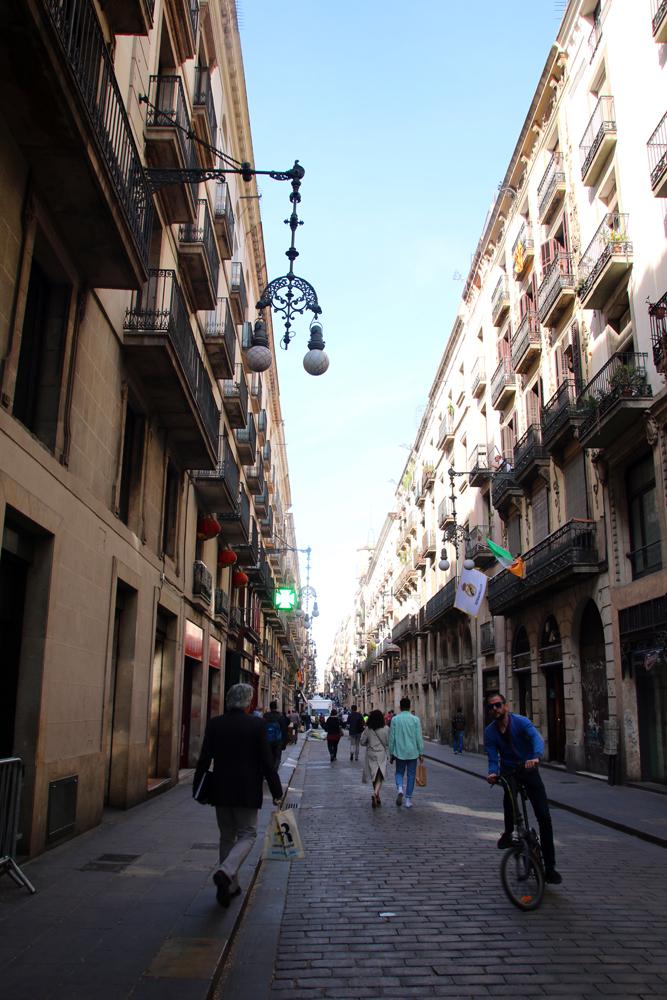Gothisches Vertel Barcelona Spanien