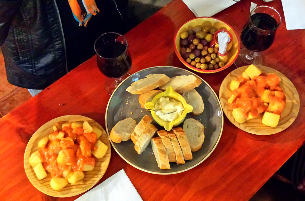 Spanish Tapas Lloret de Mar Costa Brava Spain
