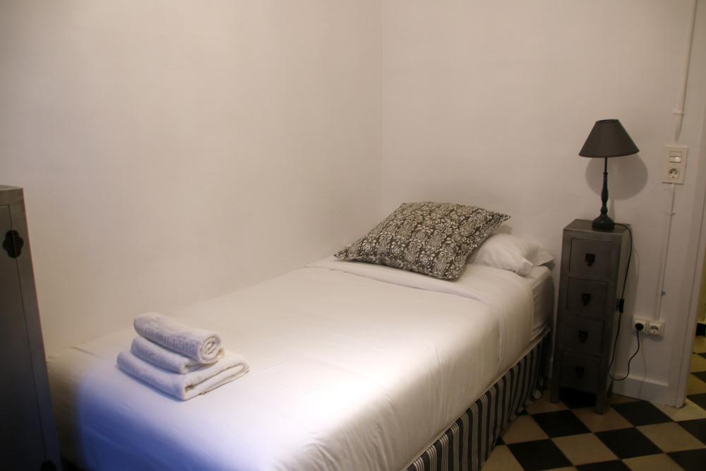 Mein Hotelzimmer Barcelona Spanien
