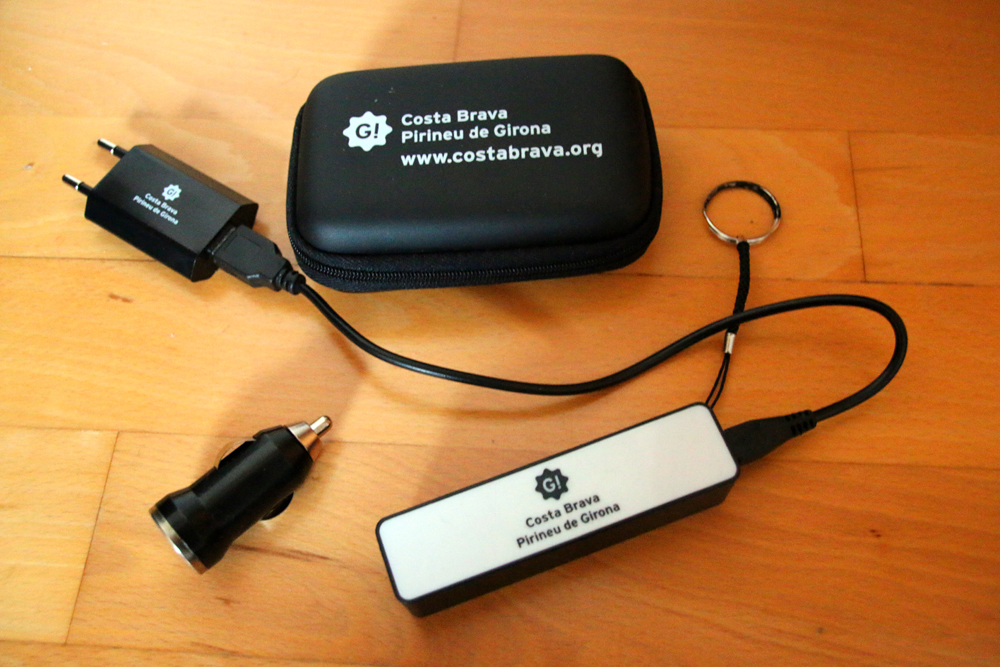 Power Bank Giveaways TBEX Europe 2015 Lloret de Mar Costa Brava Spain