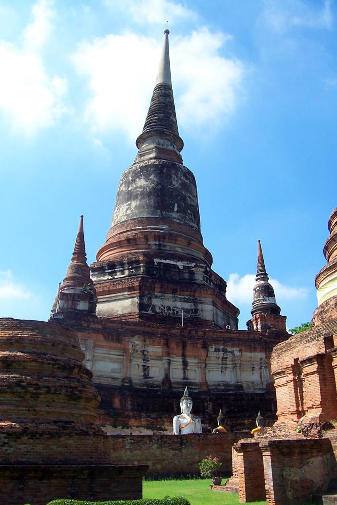 Wat Yai Chai Mongkhon Ayutthaya Temples of Ayutthaya Thailand