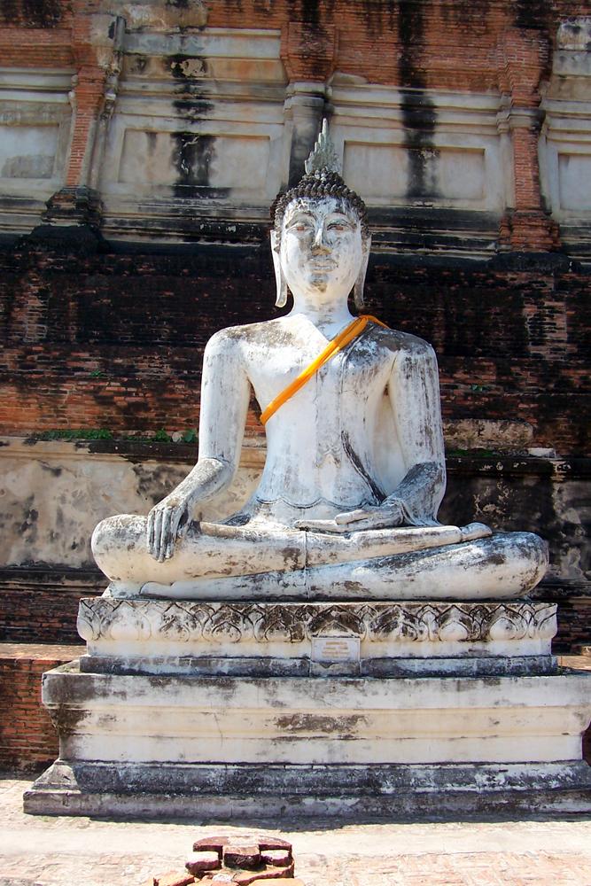 Wat Yai Chai Mongkhon Ayutthaya Tempel von Ayutthaya Thailand