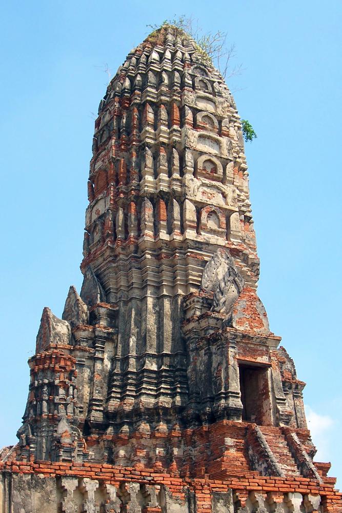 Wat Chai Watthanaram Ayutthaya Tempel von Ayutthaya Thailand