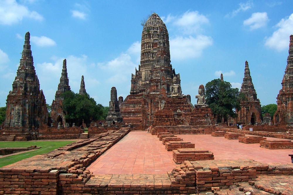 Wat Chai Watthanaram Ayutthaya Temples of Ayutthaya Thailand