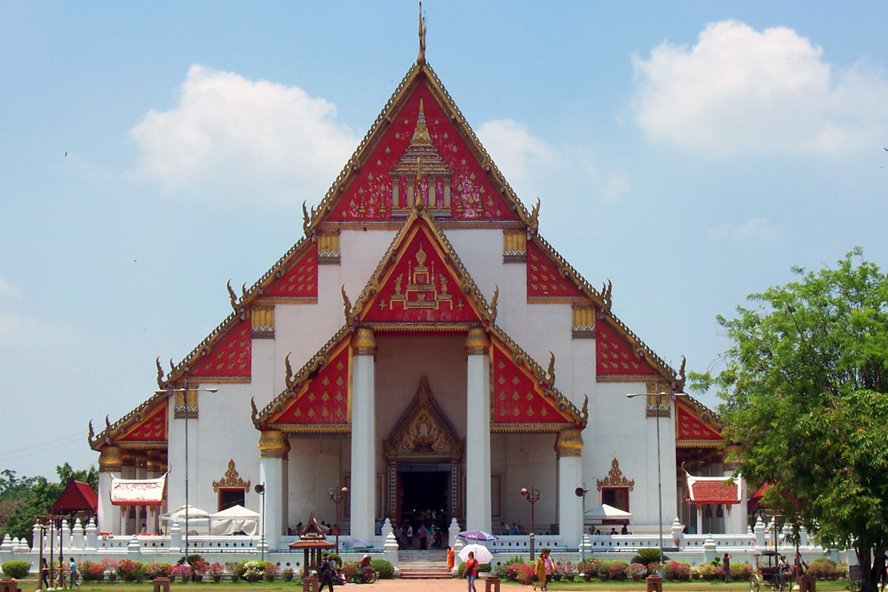Viharn Phra Mongkol Bophit Ayutthaya Temples of Auytthaya Thailand