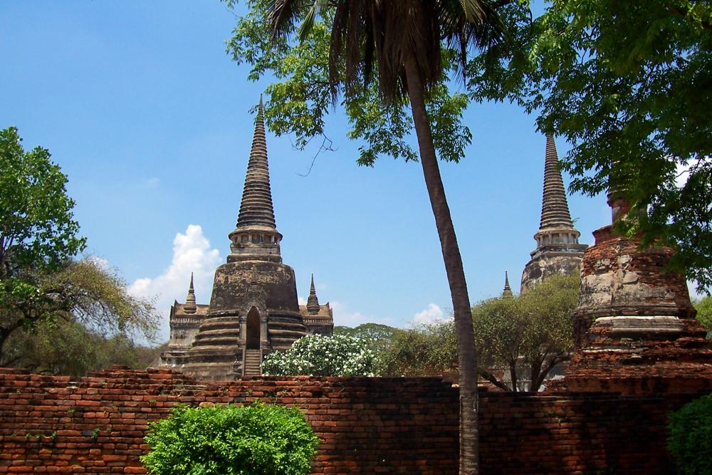 Wat Phra Si Sanphet Ayutthaya Temples of Ayutthaya Thailand