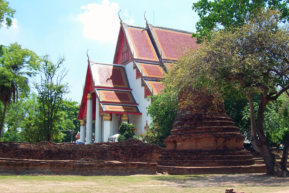 Viharn Phra Mongkol Bophit Ayutthaya Tempel von Ayutthaya Thailand