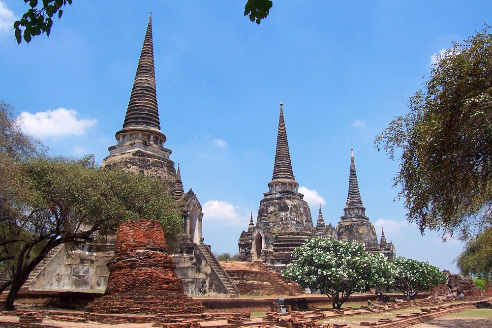 Die Tempel von Ayutthaya