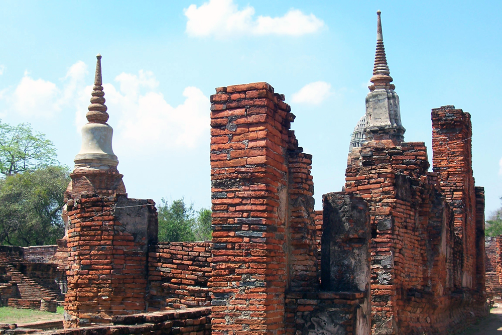 Wat Mahathat Ayutthaya Tempel von Ayutthaya Thailand