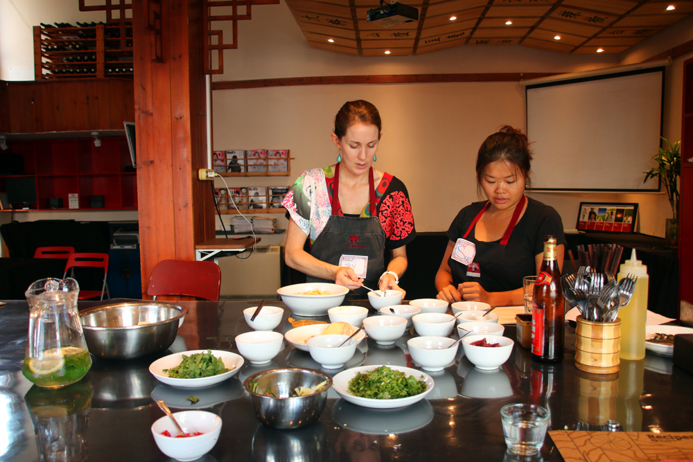 Yunnan Cooking class Beijing China