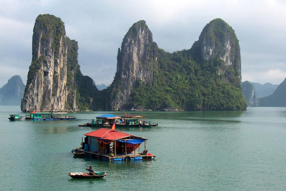 Ha Long-Bucht Vietnam Asien