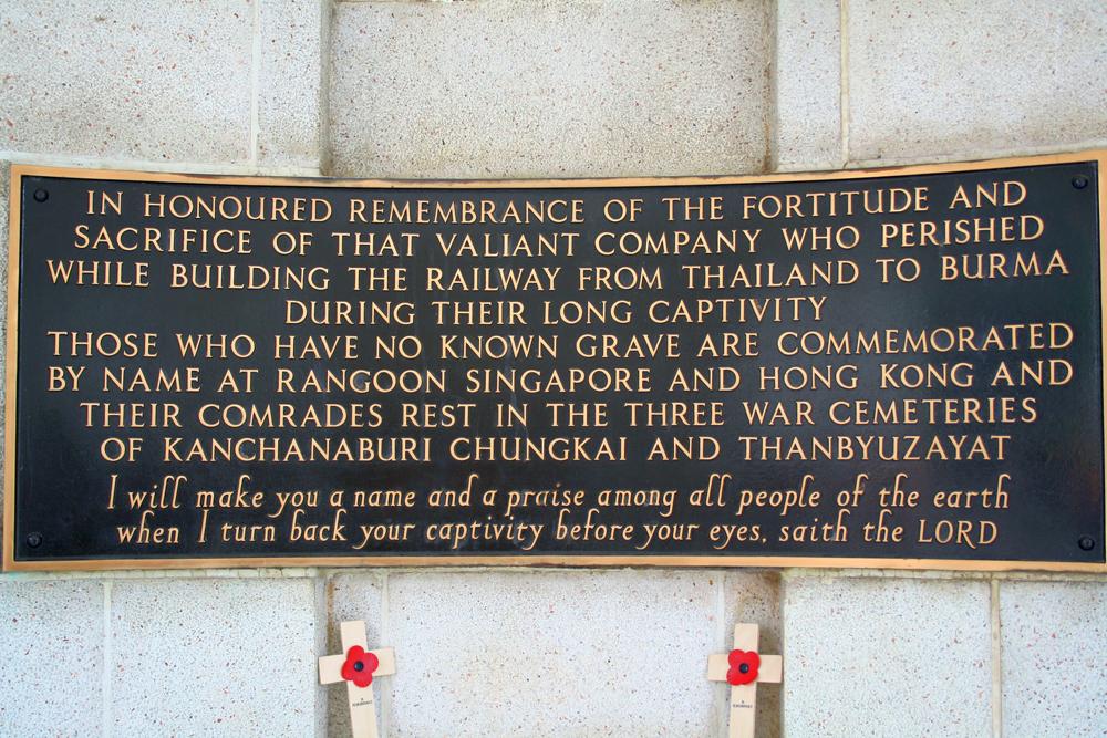 Kanchanaburi War Cemetery Kanchanaburi Thailand Asia