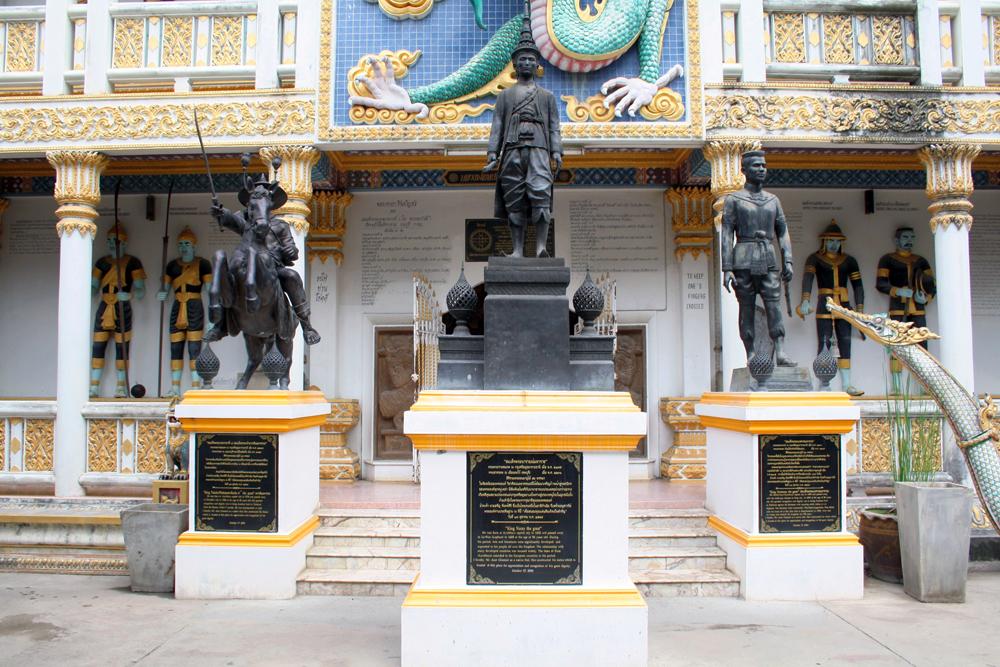 Wat Chai Chumphon JEATh War Museum Kanchanaburi Thailand Asia