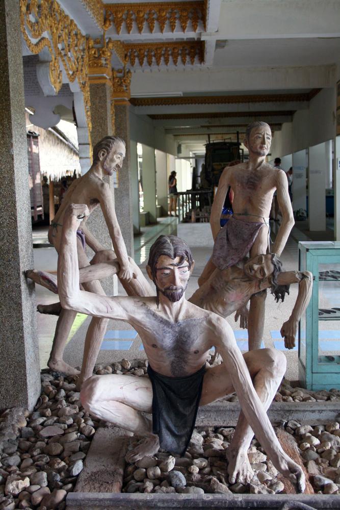 JEATH War Museum Kanchanaburi Thailand Asia