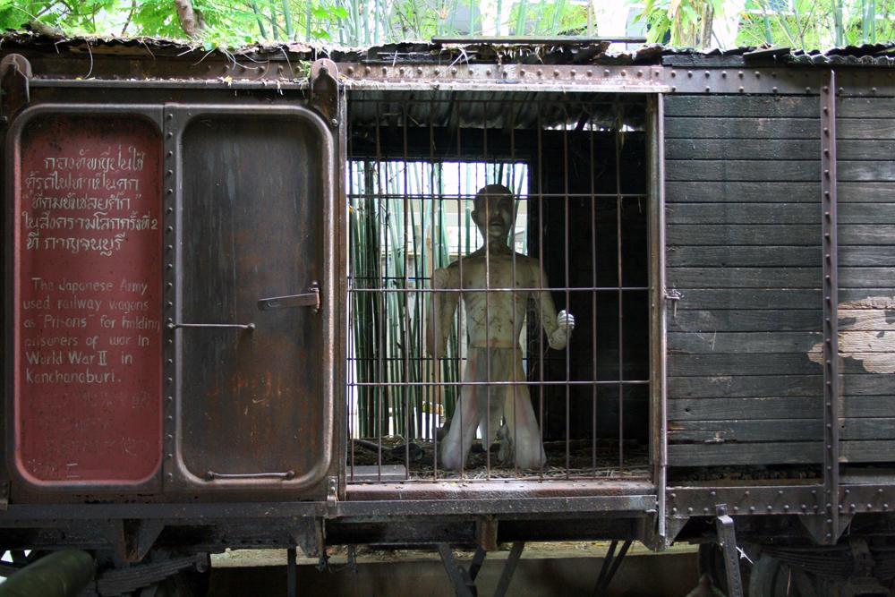 JEAT War Museum Kanchanaburi Thailand Asia