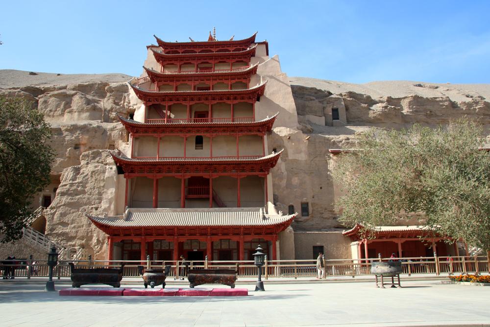 Mogao Grottoes Dunhuang Gansu China Asia