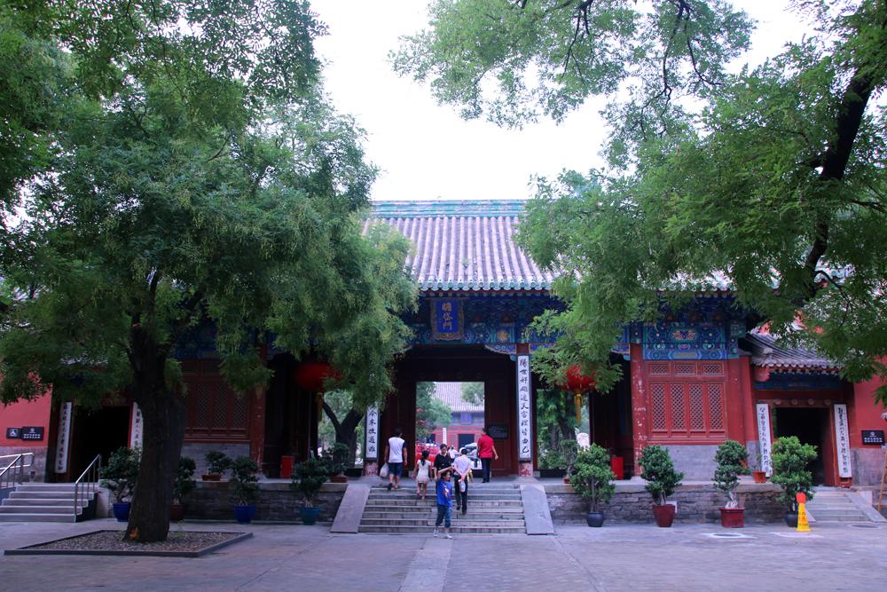 Dongye-Tempel Ming Dynastie Peking China Asien