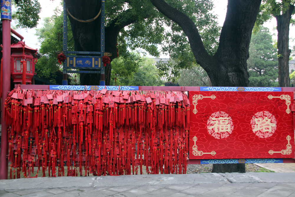 Symbols of Luck Dongyue Temple Beijing China Asia
